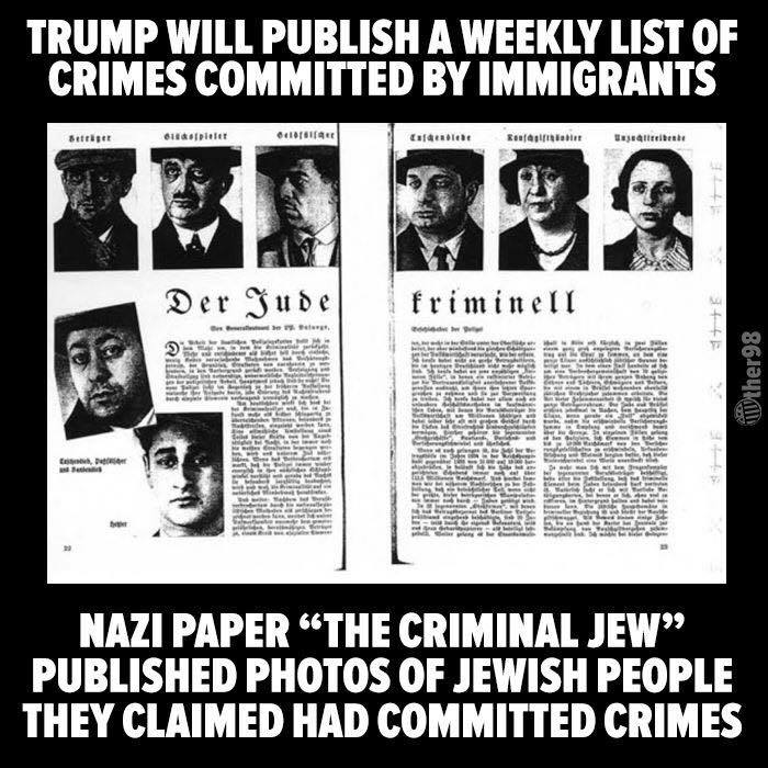 The criminal migrant jew