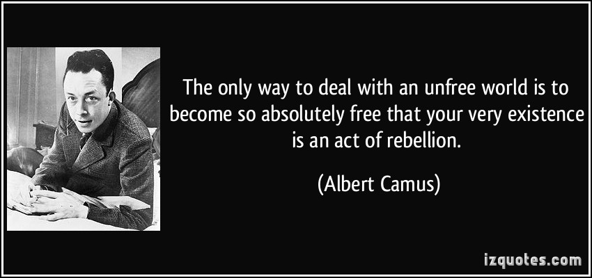 rebellion frre existence albert camus